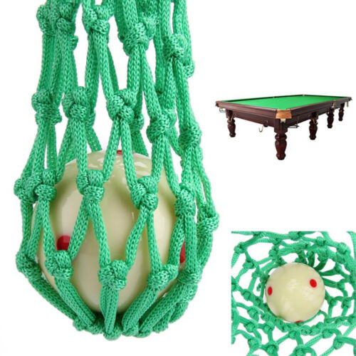 Am /_ 6PCS Grün Billiard Pool Snooker Tisch Nylon Netz Beutel Taschen Klub Set