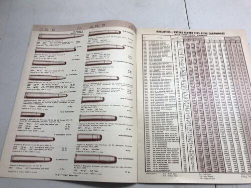 peters ammunition brochure vintage Remington shotguns /& Rifles catalog