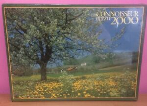 Jigsaw Puzzle 2000 Piece Blossom Time by Connoisseur NEW SEALED Free Postage