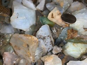 2000-Carat-Lots-of-Unsearched-Blue-Opal-Rough-a-FREE-faceted-Gemstone