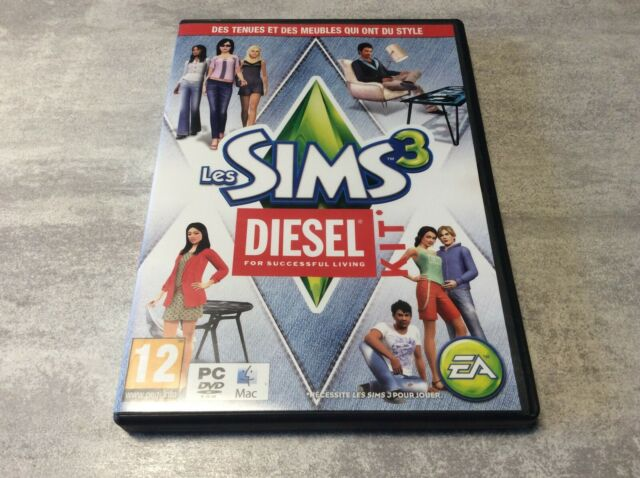 PC Les Sims 3 Diesel For Successful Living Kit PC DVD-ROM MAC PAL FR COMPLET