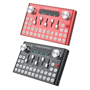 External-Mixing-Sound-Card-USB-Audio-Multiple-Sound-Effects-for-Mobile-computer