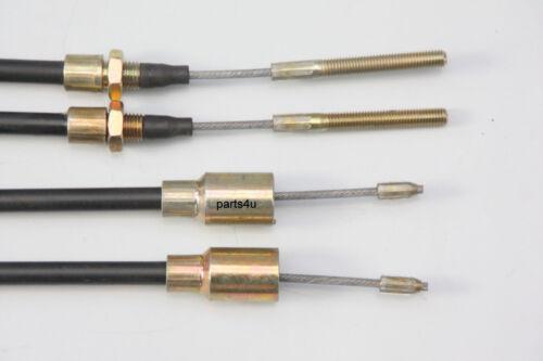 2040mm 20-2425//1 Seilzug Bowdenzug 1830 GL 2 x Bremsseil f Knott 33921-1.23 HL