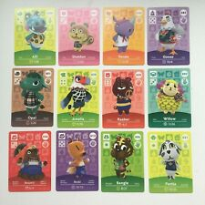 GENUINE NA Animal Crossing Amiibo Card | Series 1 | Choose | 001 to 100 | NEW