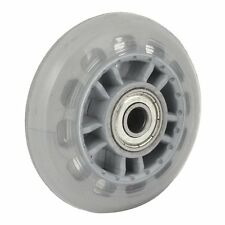 Skating Shoes 608ZZ Bearing Inline Skate Wheel Clear Gray LW