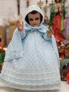 Baby Jesus Nativity Dress. 12cm 2021 Juan Diego Traje Ni/ño Dios