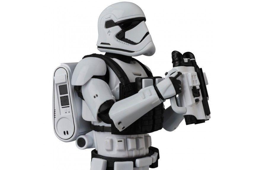 MAFEX estrella guerras Jedi l'ultimo No.68 Stormtrooper Medicom giocattolo Japan NUOVO