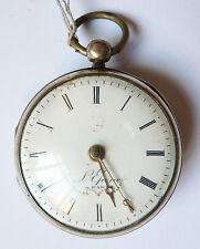 Ancienne montre gousset de poche LEPINE en argent silver pocket watch L'EPINE