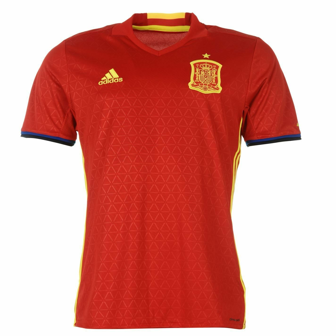 31c511065 adidas 2016 UEFA Euro Spain Soccer Home Jersey XL Ai4411 for sale online |  eBay