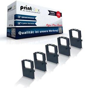 5x Jumbo Schriftbänder für OKI 52102001//ML 182 Nylon Kassette-Office Plus Serie