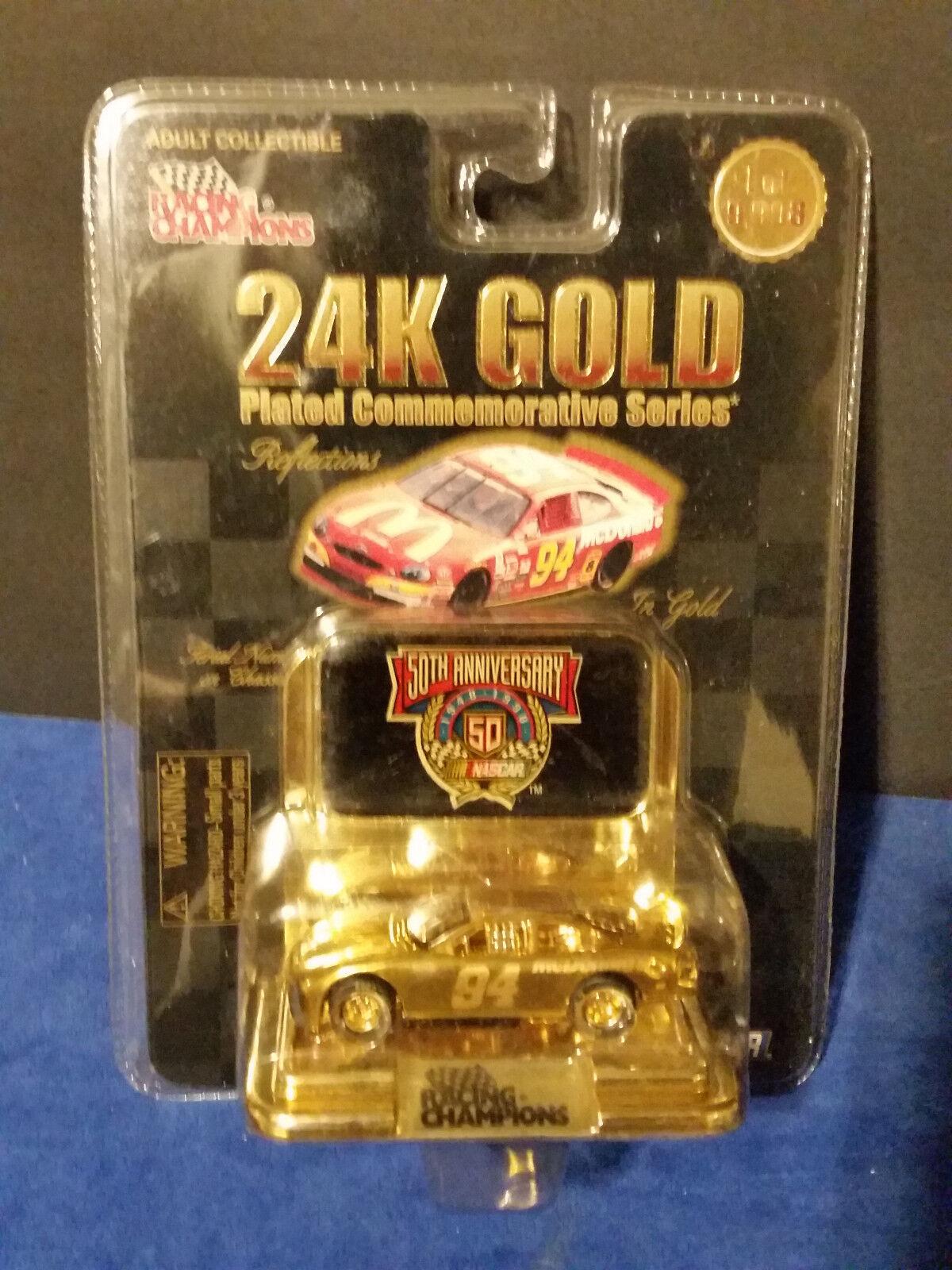 Racing Champions Bill Elliott McDonald 24K gold Plated 1 64 64 64 1 of 9,998 9d51a1
