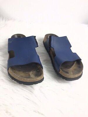 Birkenstock Betula Women's Sandals Slippers Blue size 37 L8 4.5 | eBay