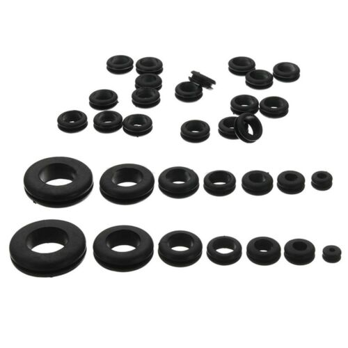 180pc Assorted Rubber Grommet Set Open /& Closed Blind Blanking Grommets Wniu