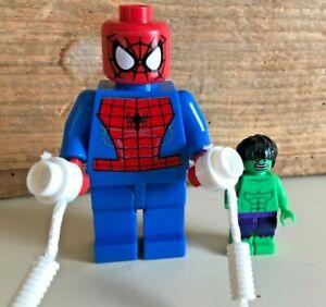 Lego type mini figurine marvel spiderman the rhino xxl