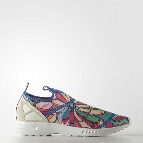 Adidas Scarpa Donna ZX Flux ADV Smooth Slip-On S75686    Fuxia - Verde