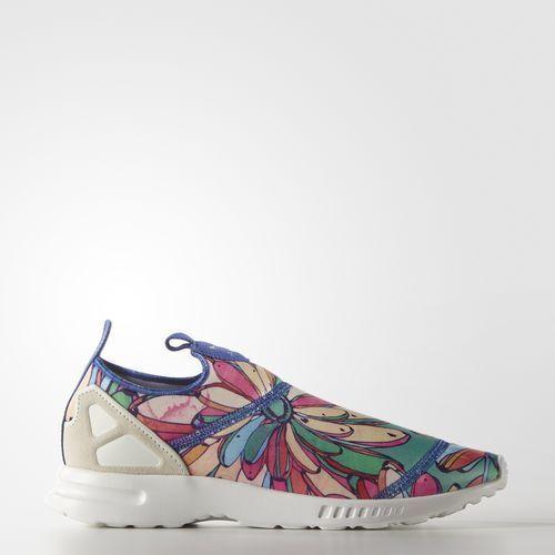 Adidas Scarpa women ZX Flux ADV Smooth Slip-On S75686    Fuxia - green