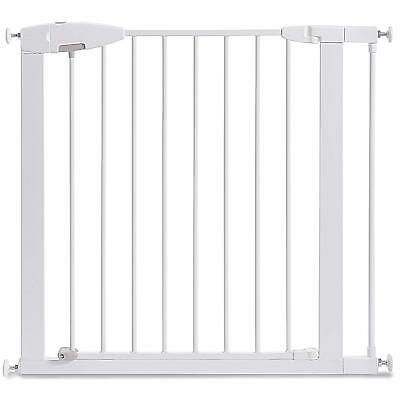 Incroyable Indoor Dog Gate Pet Cat Door Fence Adjustable Baby Barrier Safety Metal  29.5 35 | EBay