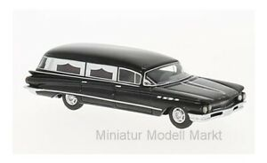 87371-bos-models-buick-Flxible-premier-Hearse-negro-1960-1-87