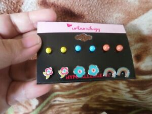 CLOSEOUT-SALE-Imported-From-USA-14-Urbanology-6-Pairs-Earrings-B-2