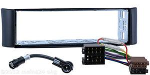 Radio-Blende-fuer-SMART-fortwo-450-Auto-Einbau-Rahmen-ISO-Adapter-Antennen-Kabel