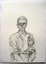 Alberto Giacometti: Sitzender Mann: Lithographie 1961 Werkverz. Lust 152