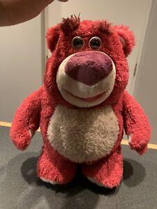 "Disney/'s Toy Story Talking Lotso Huggin Bear Soft Plush Toy by Thinkway Toys 14/"""