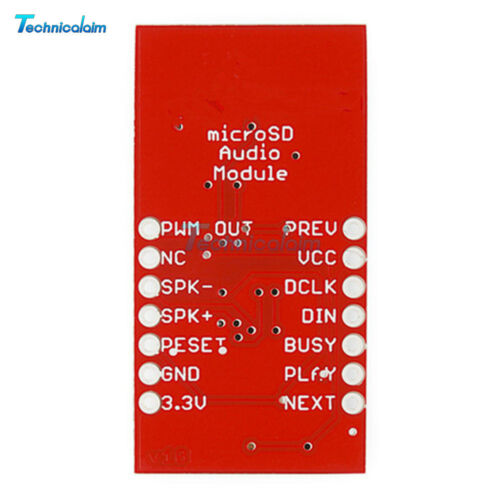 Audio WTV020SD Audio Module Micro SD Card Sound Module Game Device Module