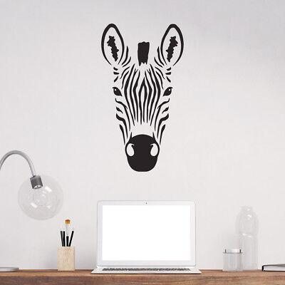 Zebra Wall Sticker -  50 x 28 cm