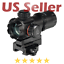 "UTG Leapers Tactical 3.9/"" ITA Red Green CQB Micro Dot QD Mount Reflex Scope"