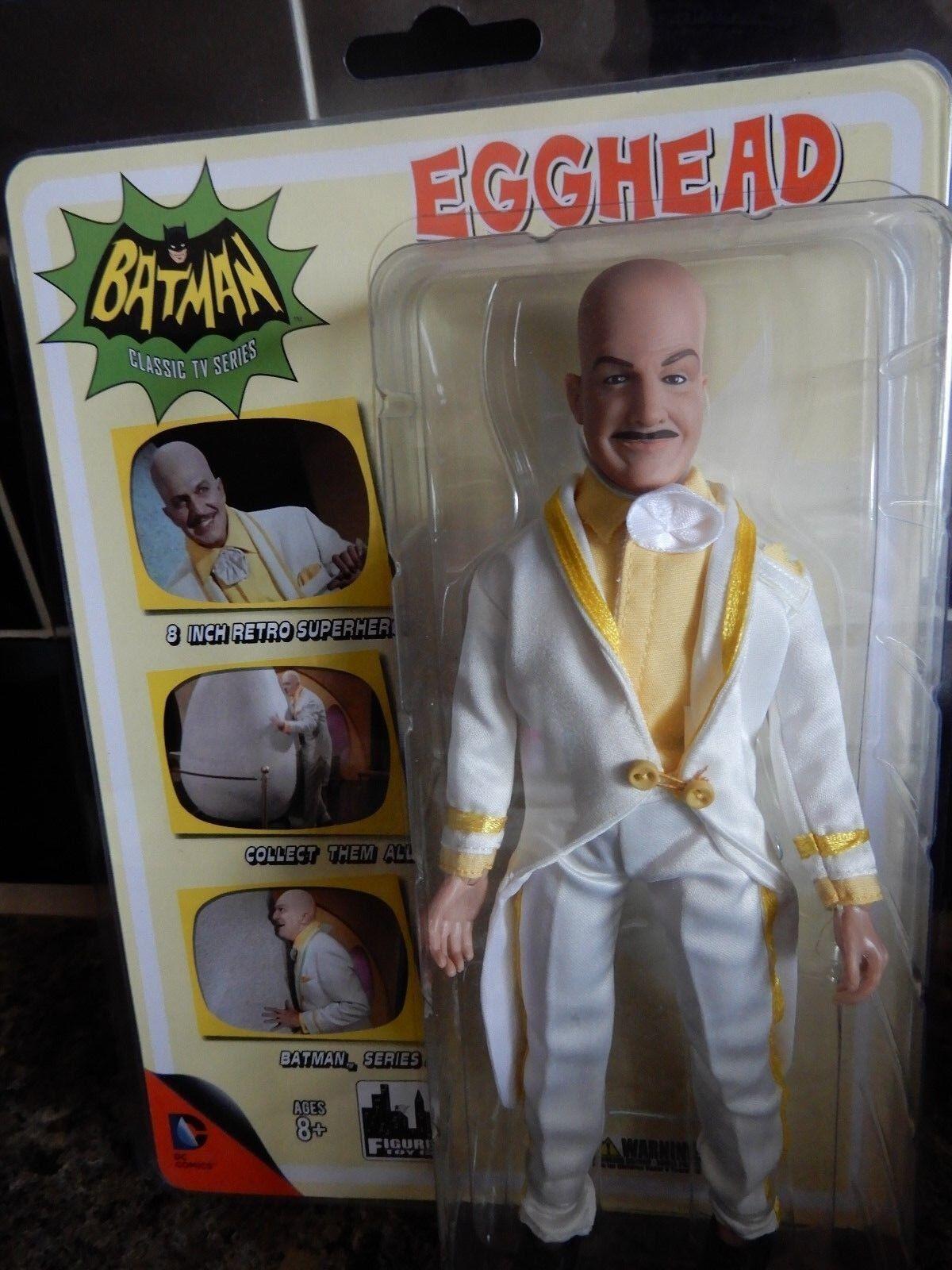 Toy figure co batman classic tv series egg head figure