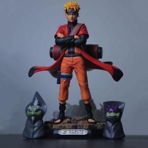 Uzumaki Naruto Naruto Sage Action Anime Figures Shippuden Figurine Uchiha Sasuke