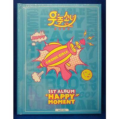 Cosmic Girls (WJSN)- Happy Moment  1st Album (Happy Ver./ Moment Ver.) Sealed CD