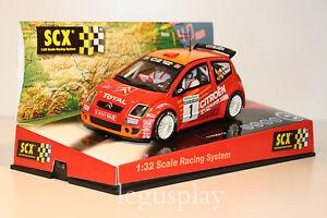 Slot-SCX-Scalextric-61660-Citroen-C2-JWRC-Rallye-de-Aviles-New