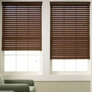 Wood Grain Faux Wood Blinds 6 Colors Free Shipping eBay