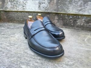 Black Loafers Church Pembrey eccellenti 7 5 Condizioni Uk BgPxnqPw8