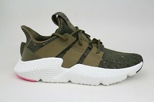 new style 02229 21d9d Image is loading Adidas-Originals-Prophere-Trace-Olive-Chalk-Pink-Mens-