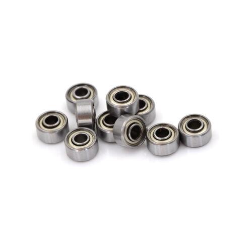 10Pcs 693ZZ Carbon Miniature Ball Bearings 3*8*4mm Double Shielded Bearing}