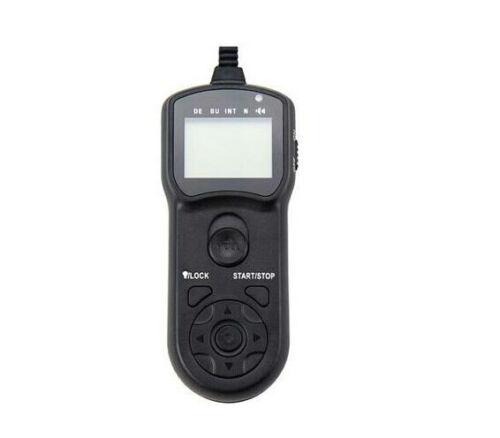 RM-UC1 Jjc Temporizador Control remoto para Olympus EM10II EPL8//7//6 EP5 EM1 Pen-F EM5II
