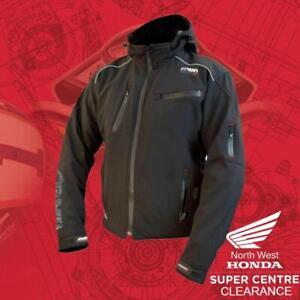 Black ARMR Sukuta Textile Motorcycle Jacket