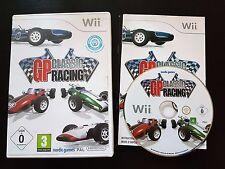 GP Classic Racing - Nintendo Wii / Wii U - RARE - Free, Fast P&P! - Golden Era