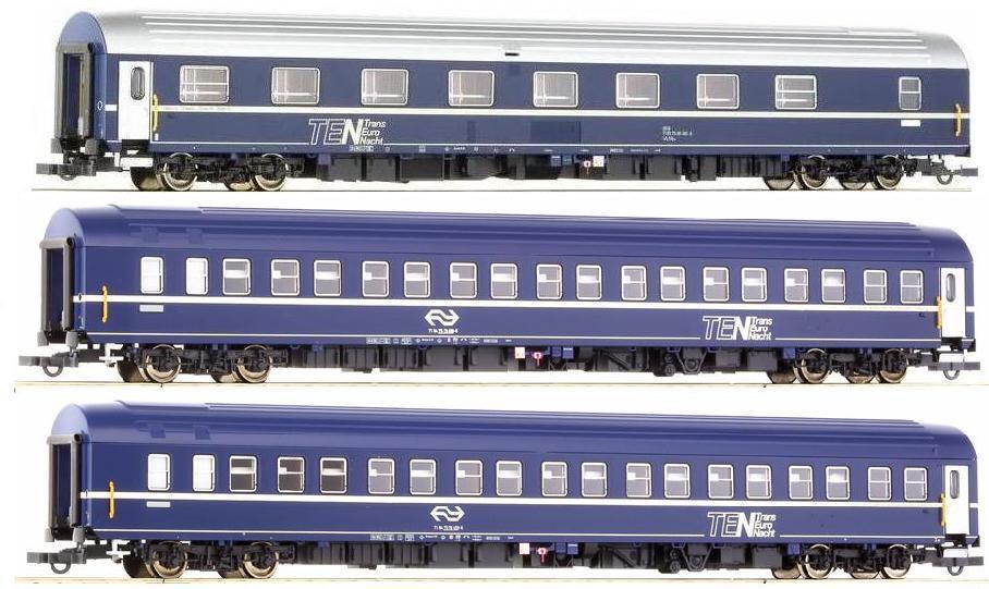 Roco H0 64752 64759 64760 64760 64760 Schlafwagen T2S TEN Nachtzug DSB NS Ep.4 NEU zu 74129  | Elegante Form  5238be