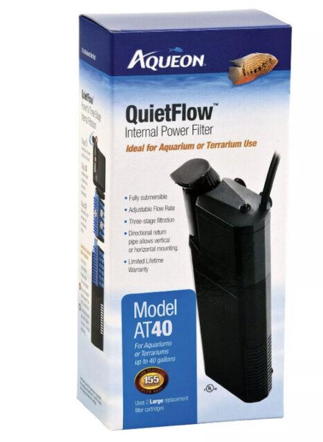 Aqueon Quietflow Internal Power Filter, 40 Gallon,