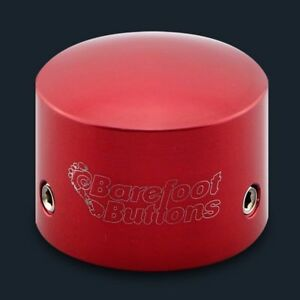 BAREFOOT-BUTTONS-V1-TALLBOY-Button-RED-For-Std-3PDT-Switches-Guitar-Pedal-Acc
