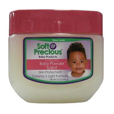 Soft & Precious Nursery Jelly Baby Products Baby Powder Scent - Vaseline 368g