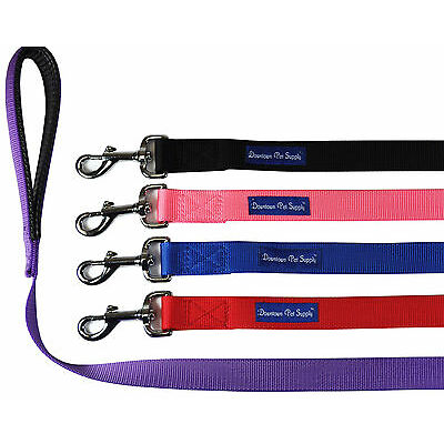 Strong Durable Dog Leash Lead, Padded Handle, Soft Handle Grip, Water Resistant