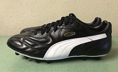 Puma King Top DI FG Black White Gold Mens Sz 7 Leather Soccer Cleats $220  NEW!!! | eBay