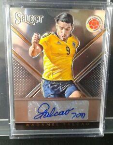 Radamel Falcao - Colombia - Autograph 29/46 Soccer Select 2015