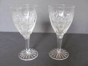QUEEN-LACE-BY-QUEEN-LACE-BOHEMIA-STYLE-CRYSTAL-CLARET-WINE-GLASSES-5-3-4-034