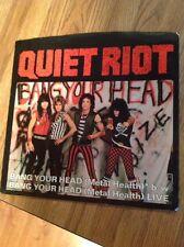 Quiet Riot - Bang Your Head ( Metal Health ) 45 PS Promo NM