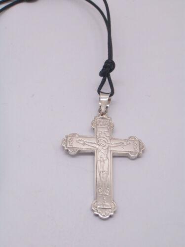 ciondolo CROCE simbolo del Palio di Legnano in Argento 925 Crocefisso